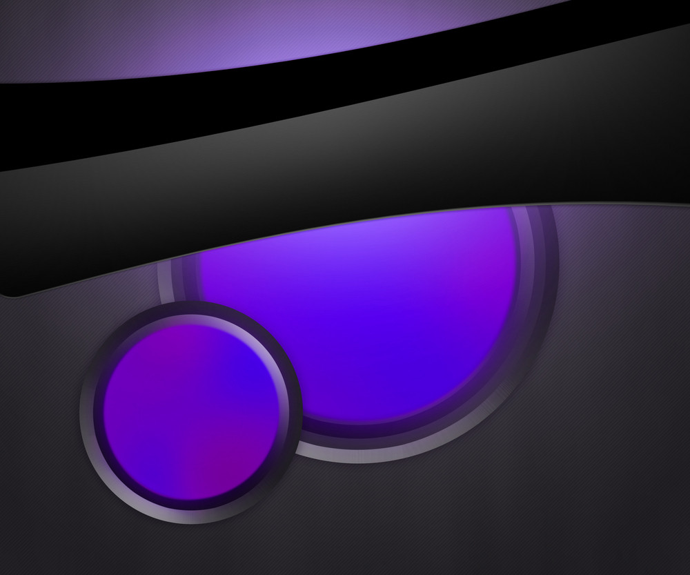 Dark Shapes Violet Background