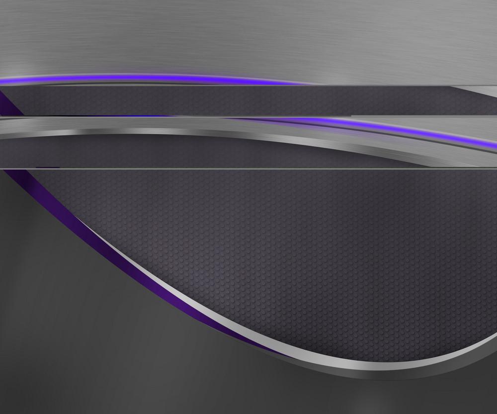 Dark Shapes Violet Tech Background