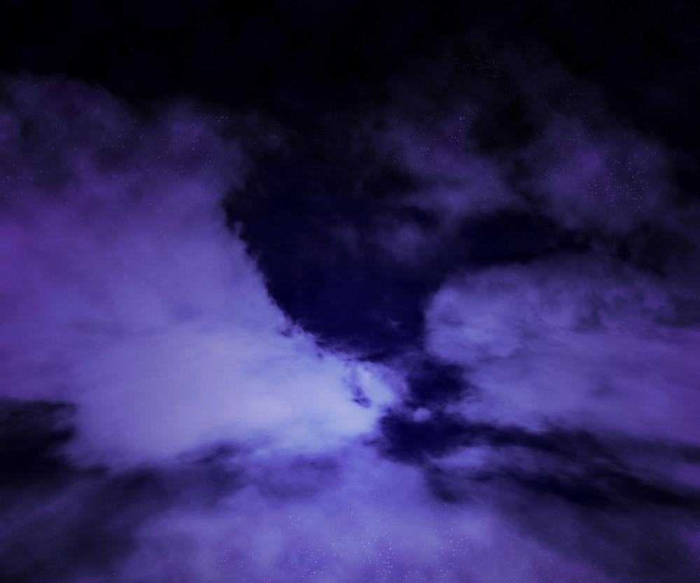 Dark Sky Cloud Stage Background