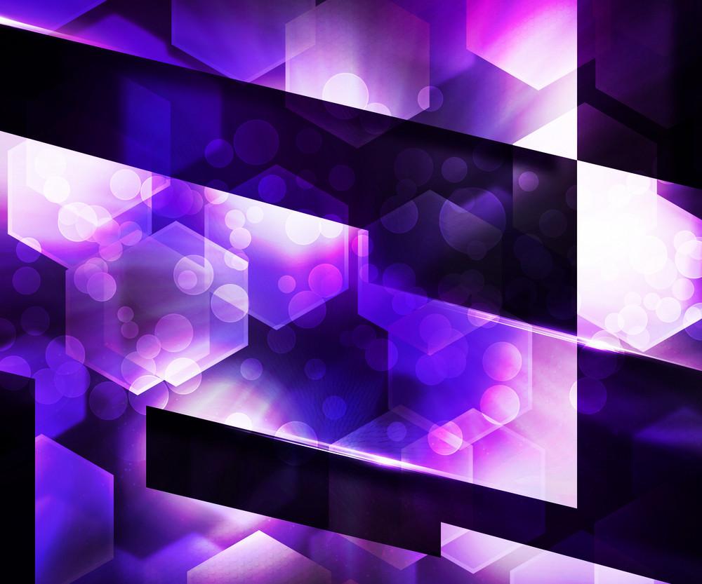 Dark Violet Abstraction Background