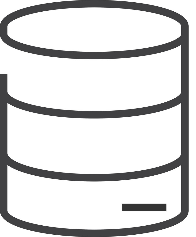 Data 2 Minimal Icon