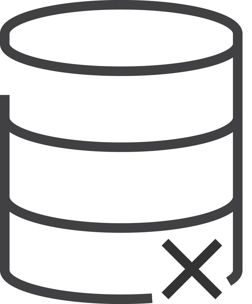 Data 4 Minimal Icon