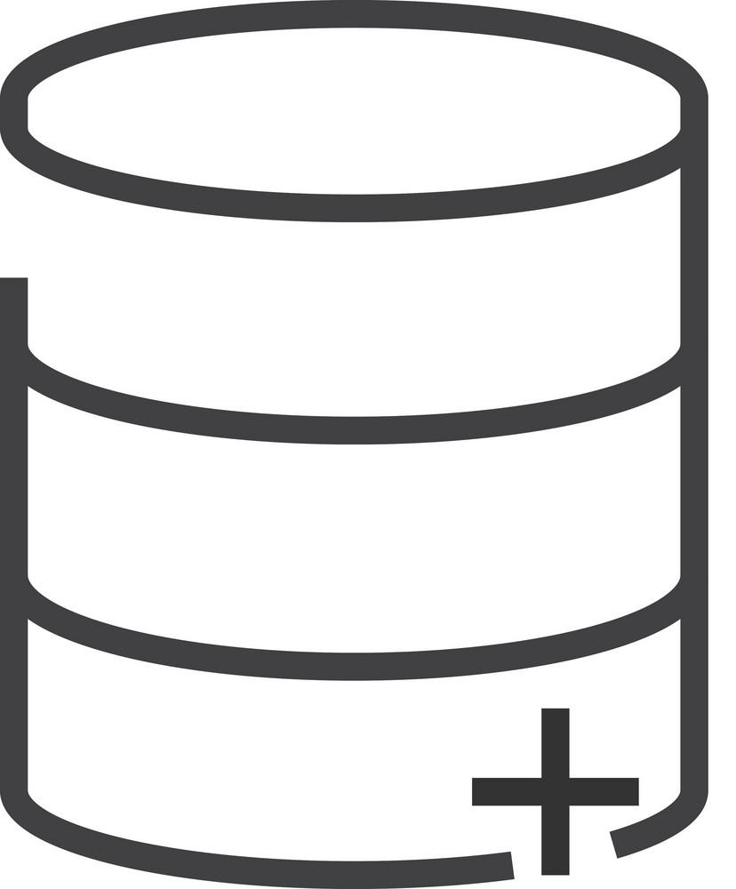 Data 5 Minimal Icon