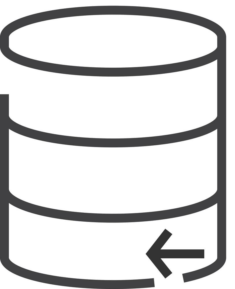 Data 9 Minimal Icon