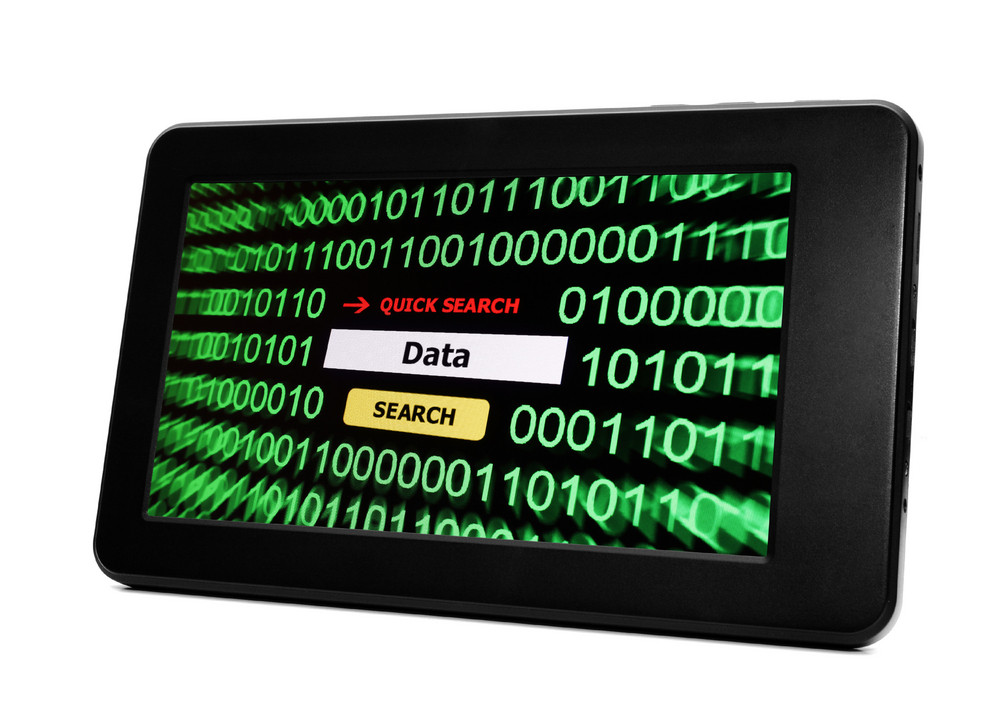 Data On Tablet Pc