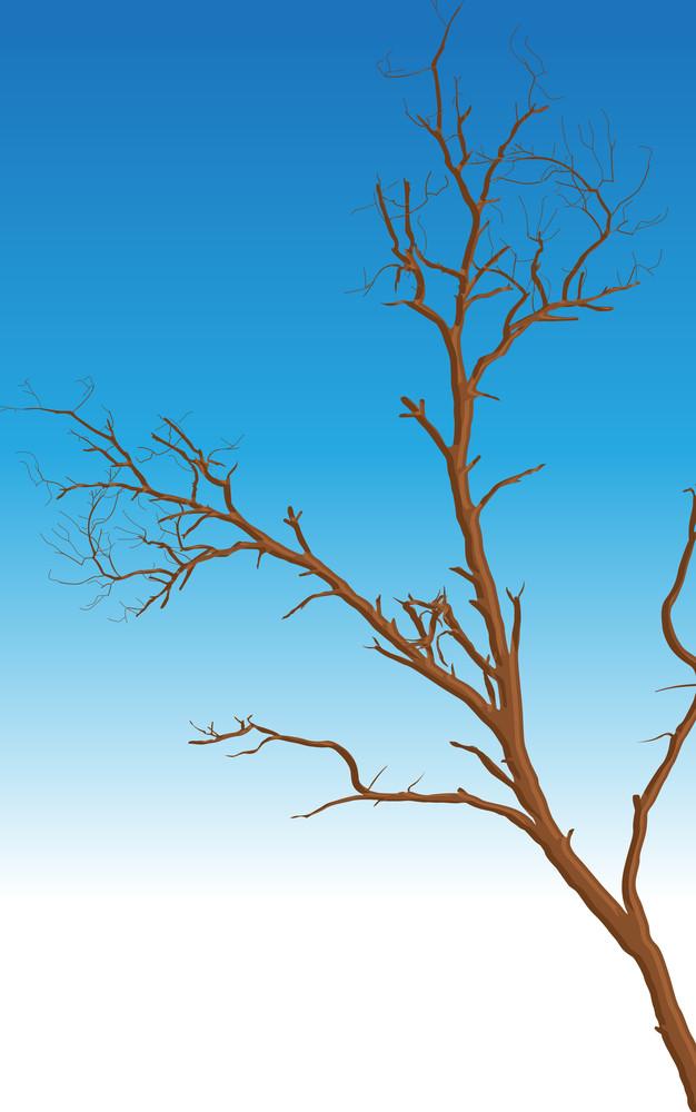Dead Tree Vector Design