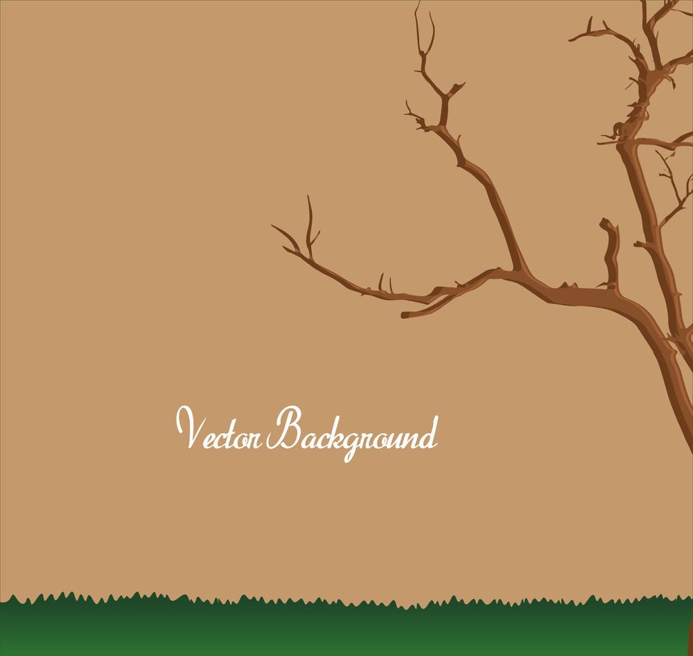 Dead Tree Vector Land