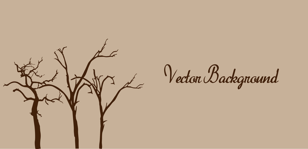 Dead Trees Banner Template
