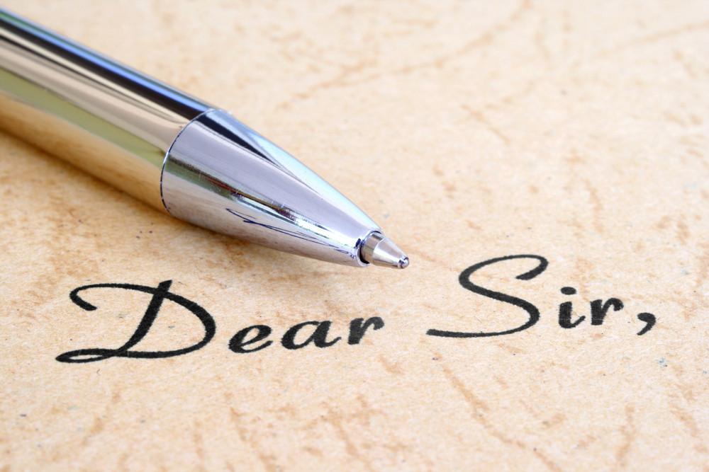Dear Sir