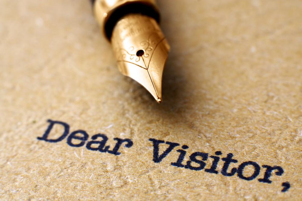 Dear Visitor