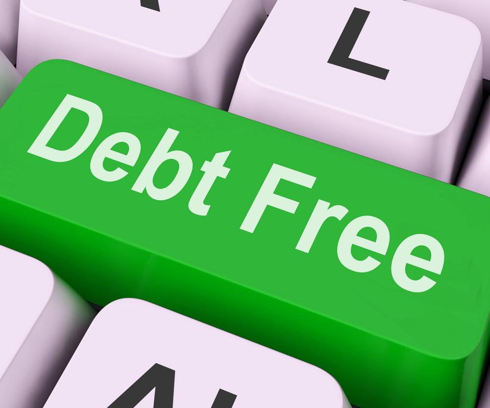 Debt Free Key Means Financial Freedom