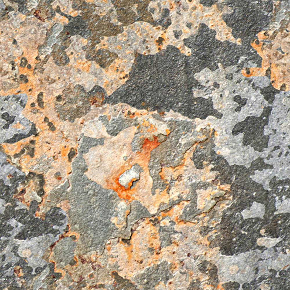 Decayed Metal Seamless Texture Tile