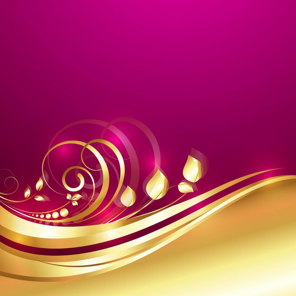 Decor Golden Flora Design