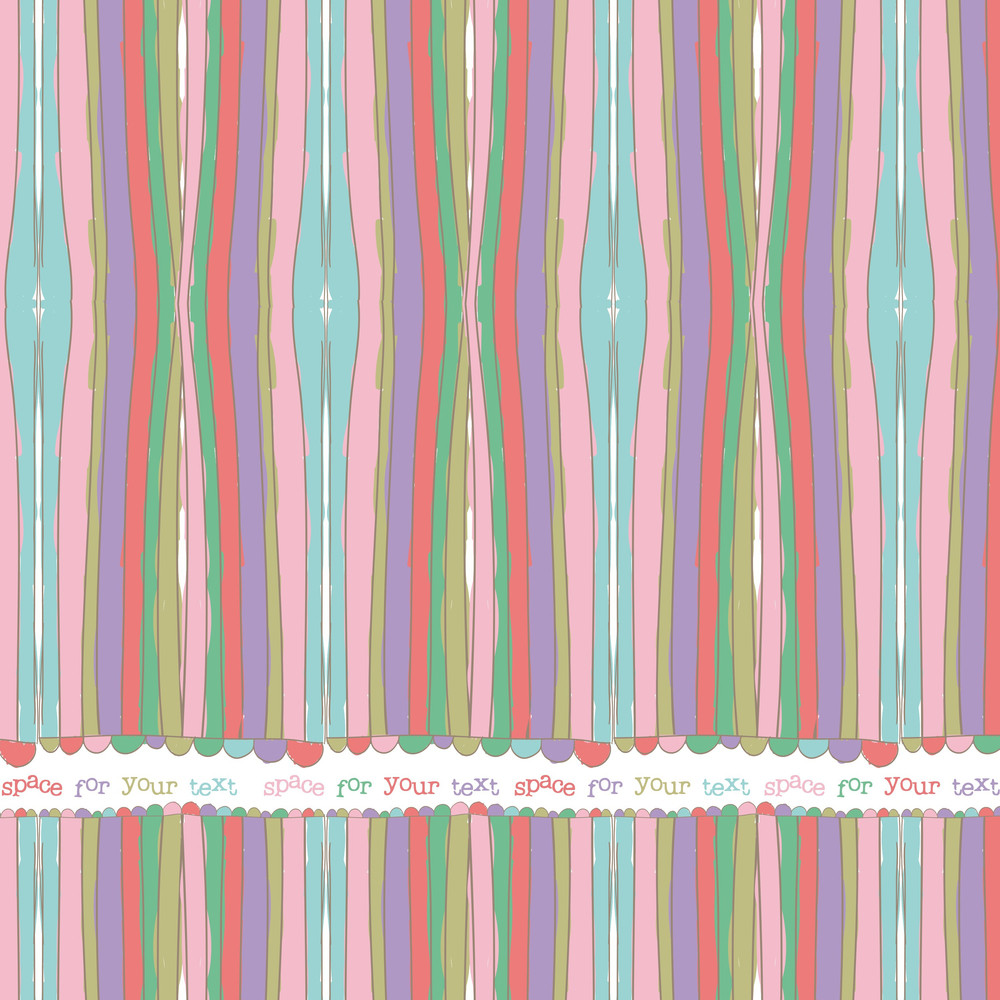 Decorative Abstract Background. Vector Illustration