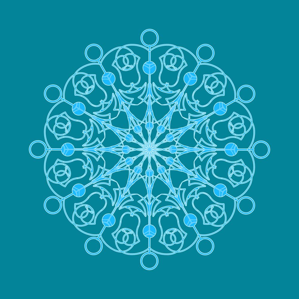 Decorative Art Snowflake
