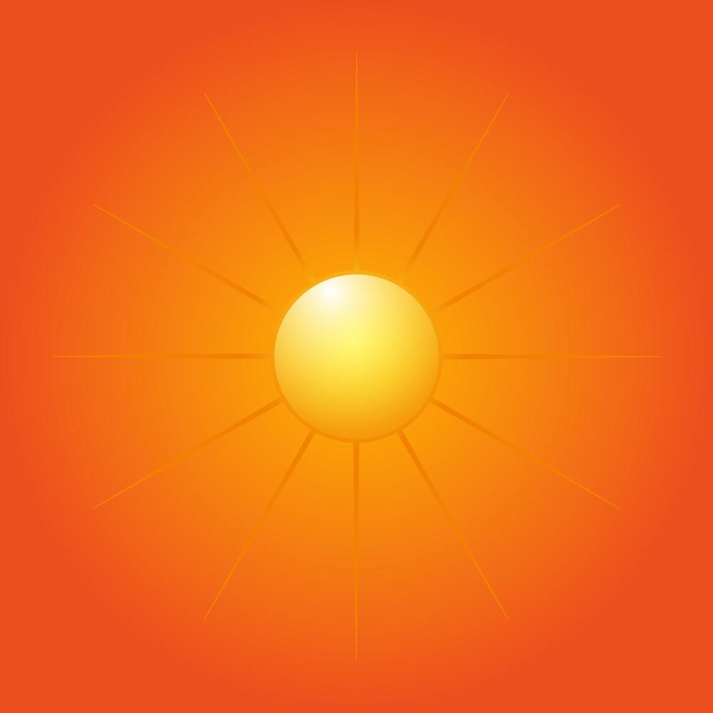 Decorative Bright Sun