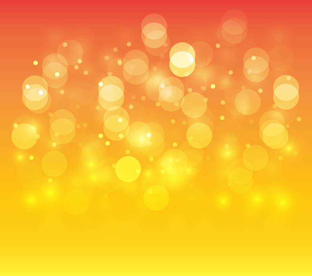 Decorative Christmas Lights Background