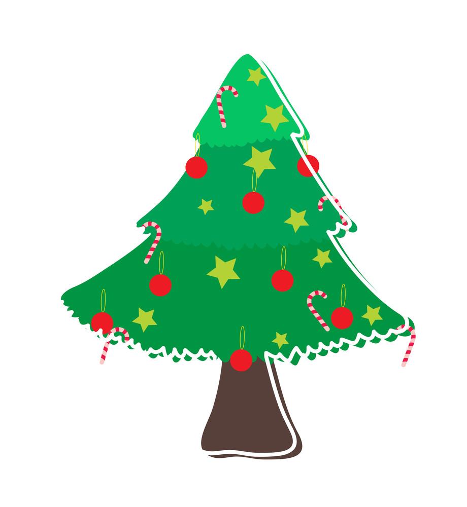 Decorative Christmas Tree Design