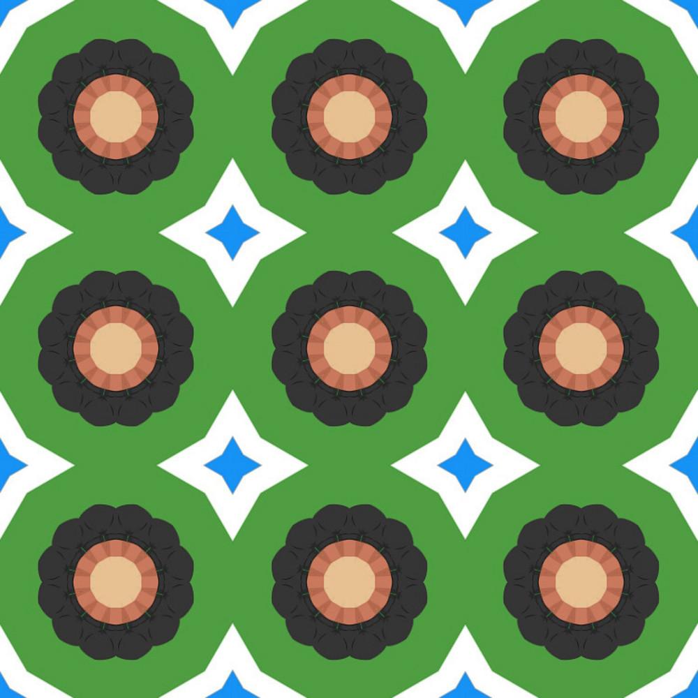 Decorative Circles Background