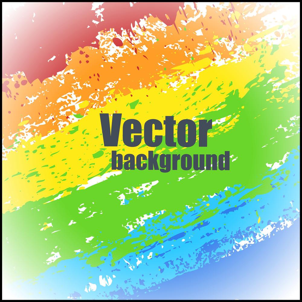 Decorative Colorful Splash Background