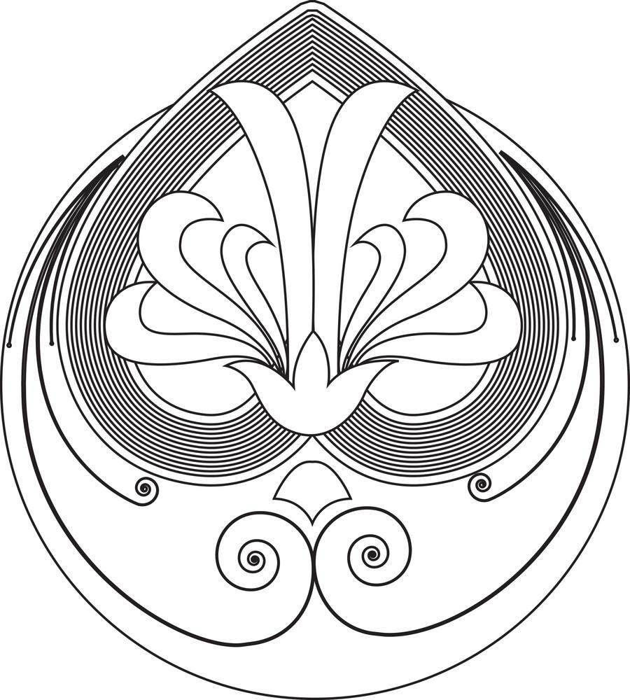 Decorative Floral Art
