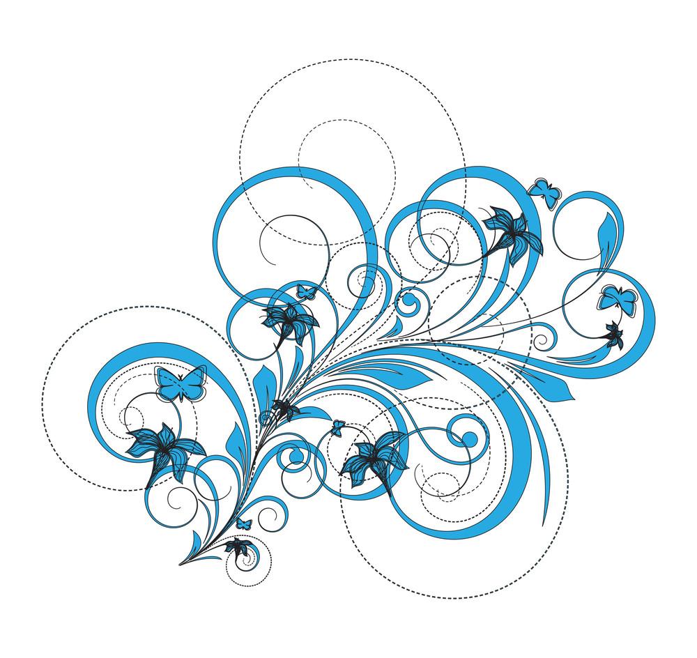 Decorative Flourish Art