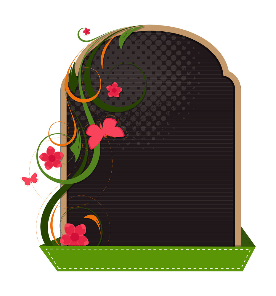 Decorative Flourish Banner Design