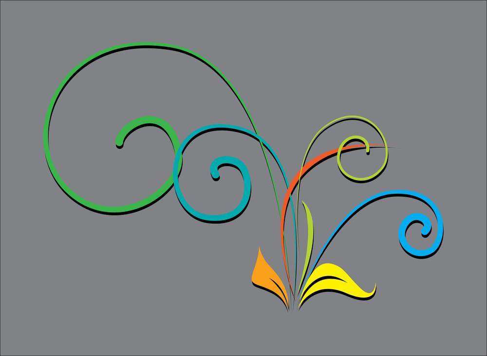 Decorative Flourish Design