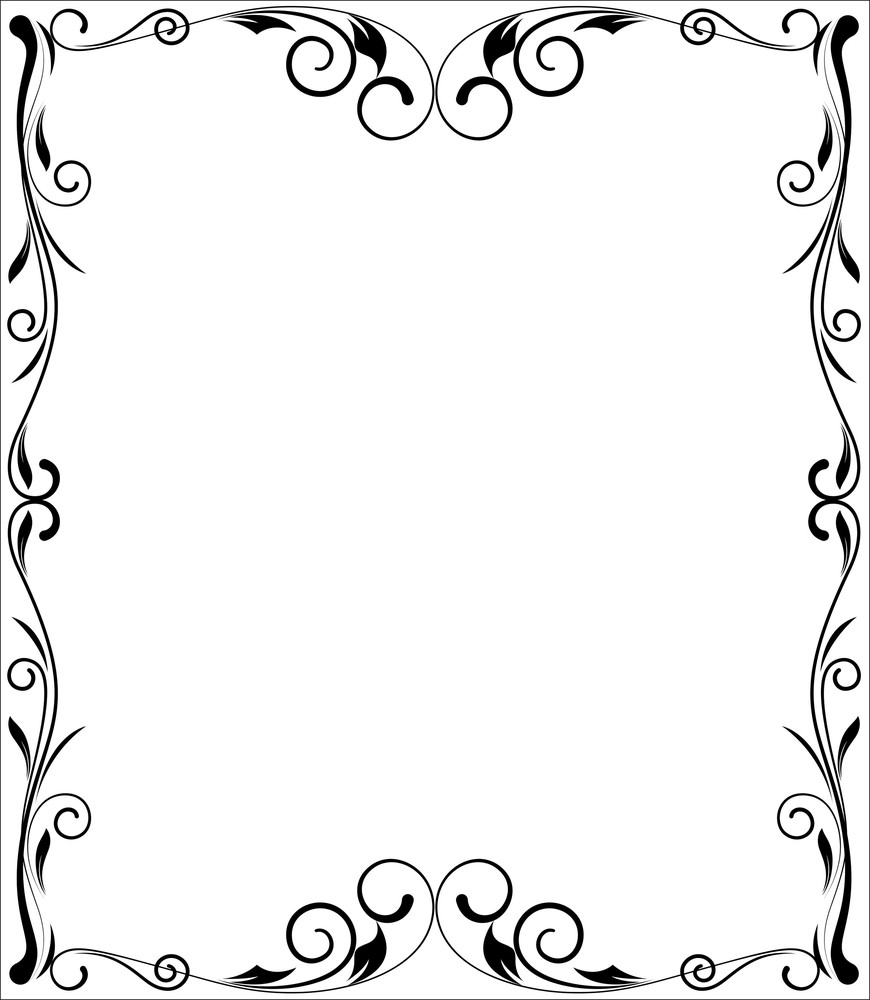 Decorative Flourish Frame