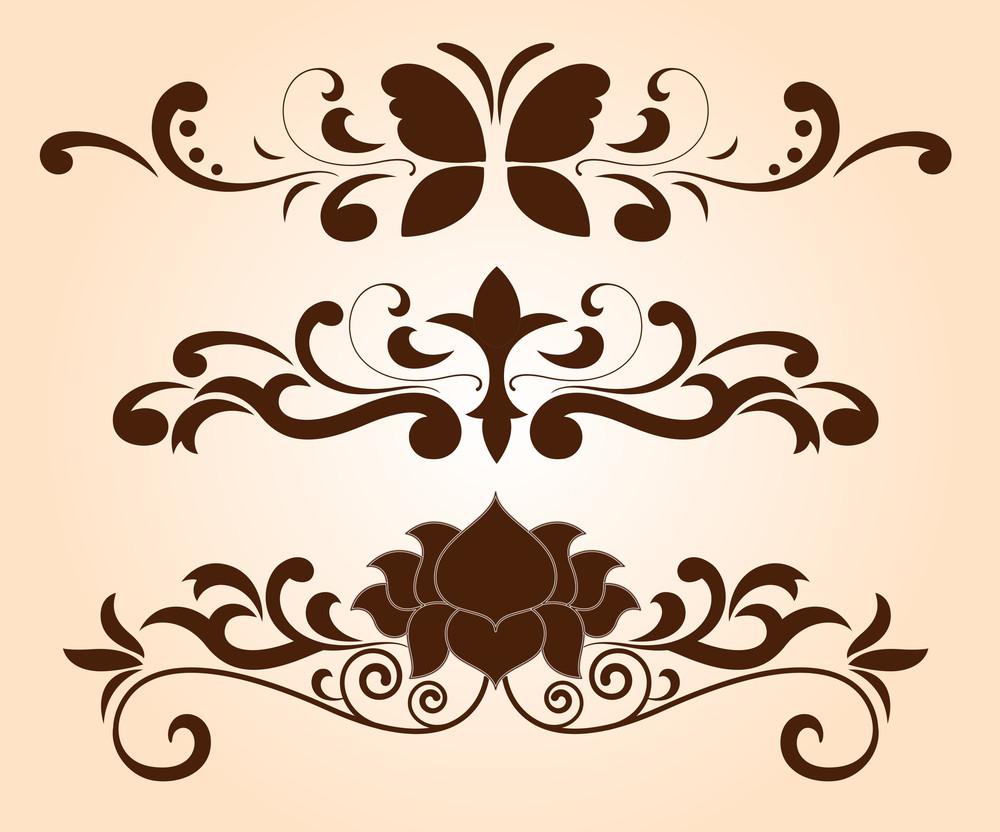 Decorative Flourish Separators