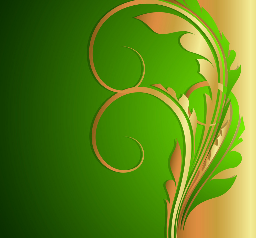 Decorative Flourish Template Design