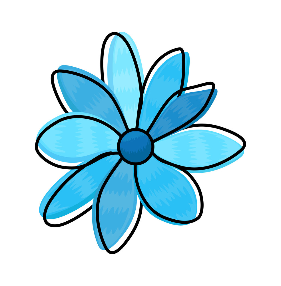 Decorative Flower Clipart