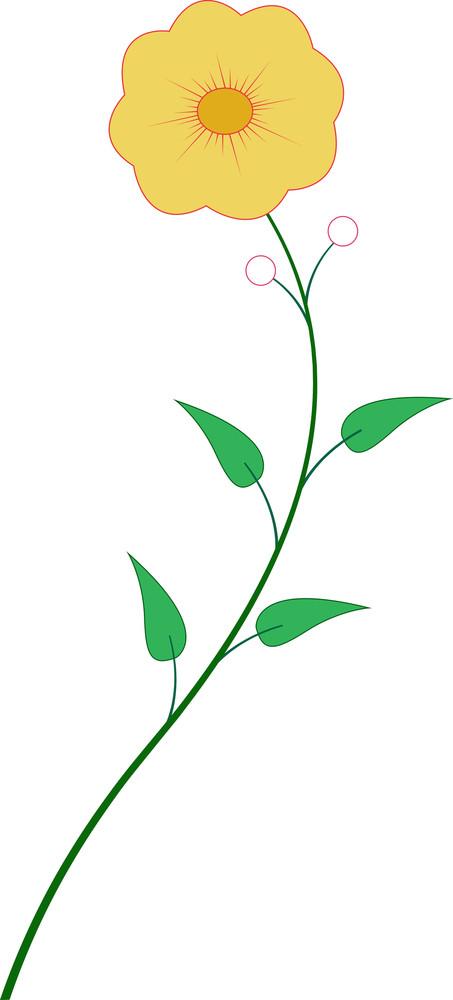 Decorative Flower Element