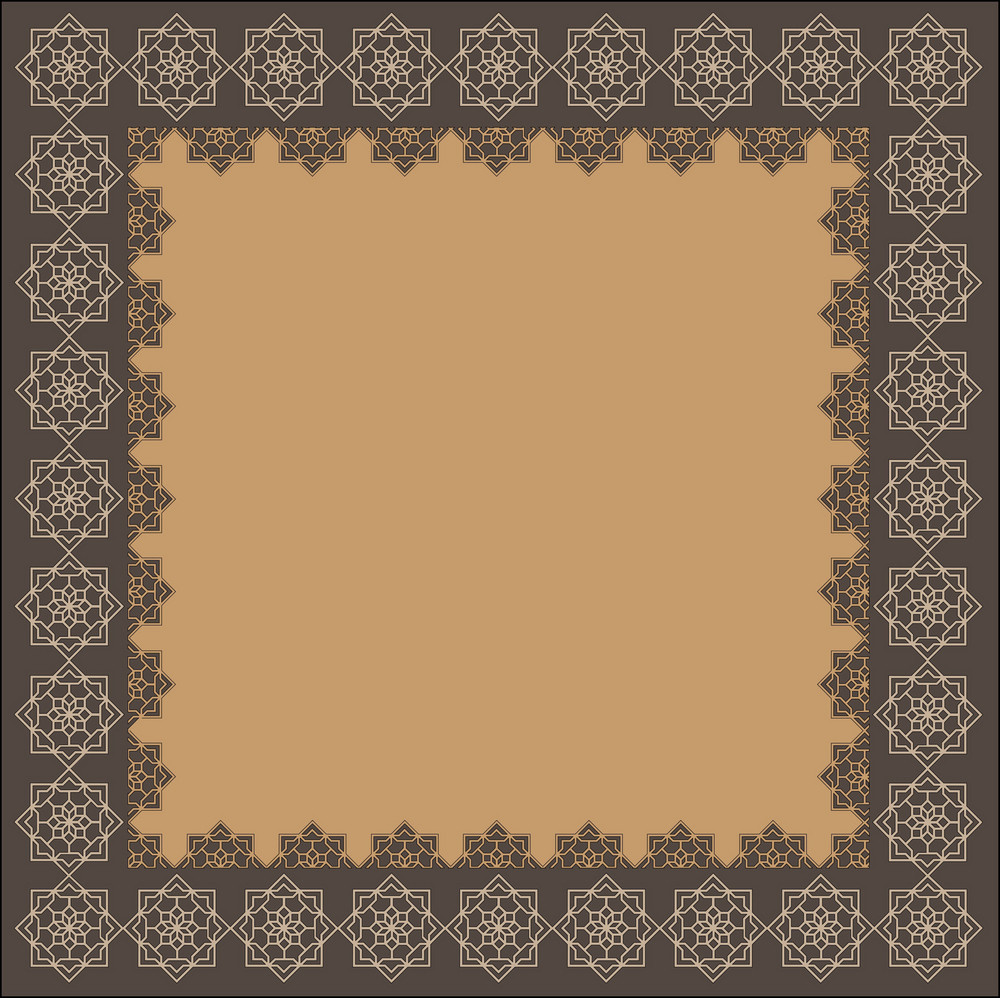 Decorative Indian Frame