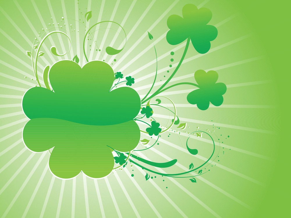 Decorative Patrick's Day Background 17 March