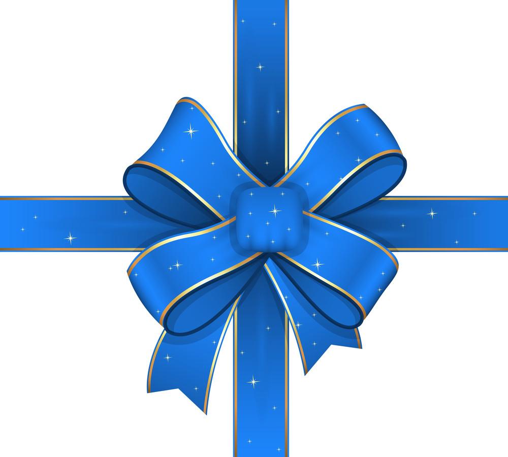 Decorative Sparkles Ribbon Bow