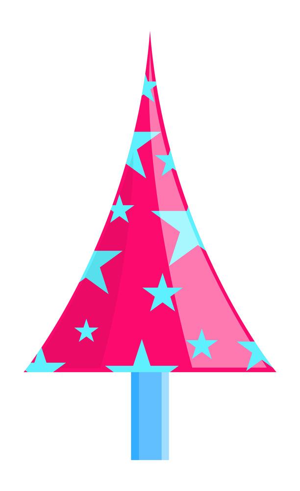 Decorative Stars Christmas Tree