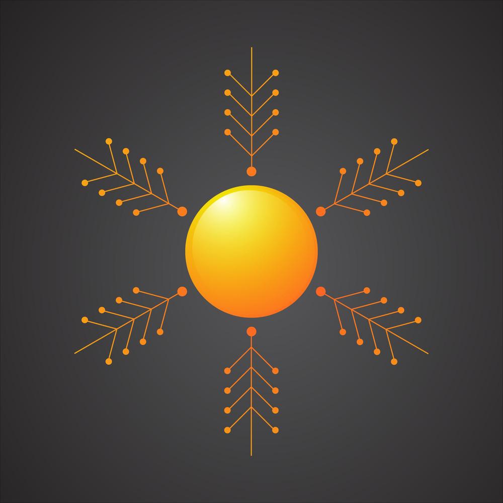 Decorative Sun Element