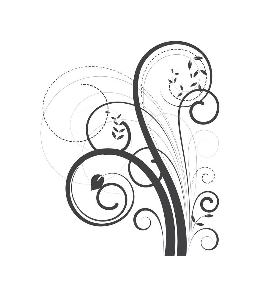 Decorative Swirl Element