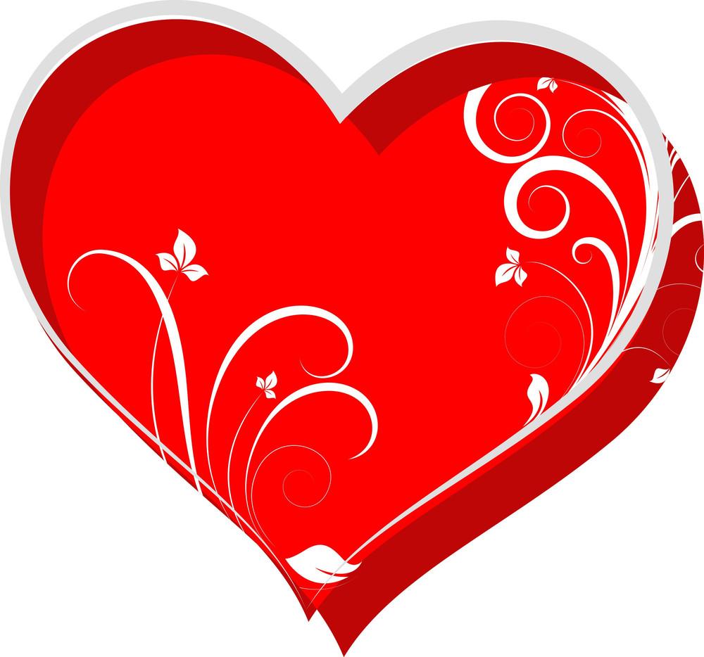 Decorative Swirl Heart