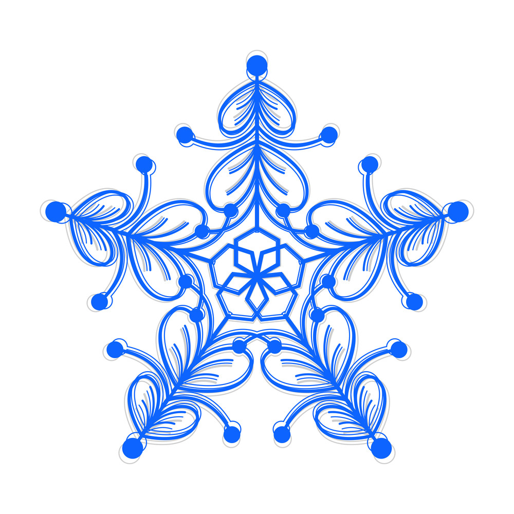 Decorative Xmas Snowflake