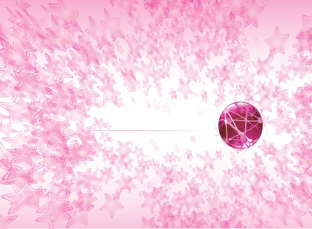 Deep Pink. Vector Background.