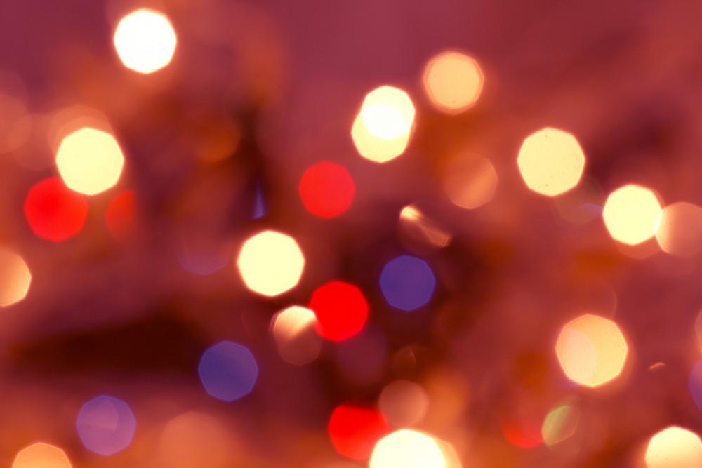 Defocused Blur Bubbles Backdrop