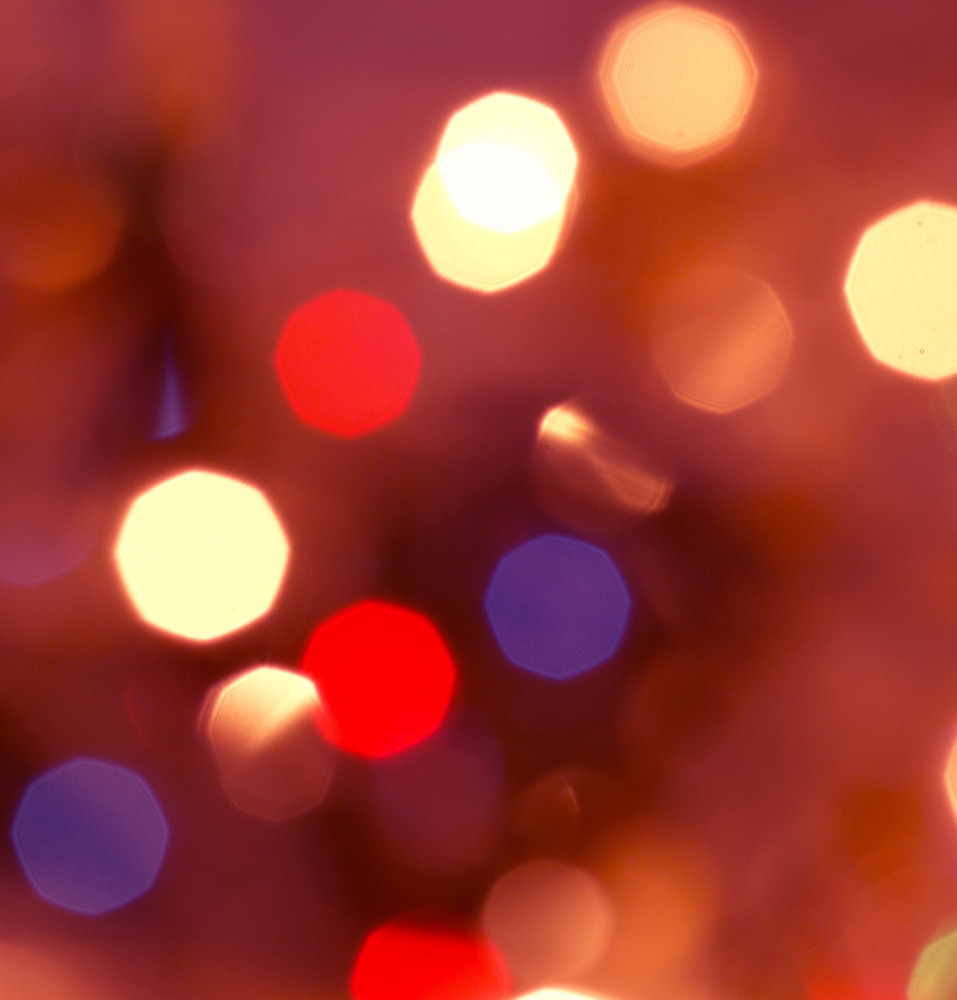 Defocused Blur Bubbles Background