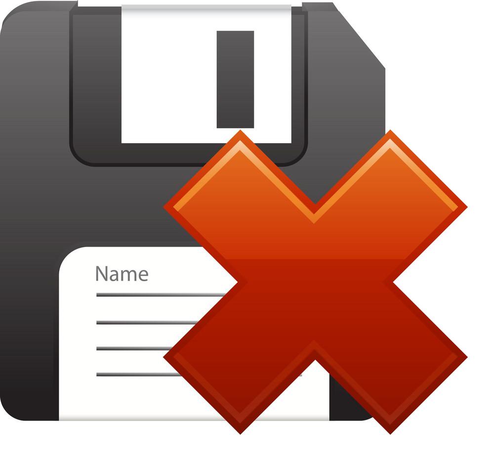 Delete Floppy Disk