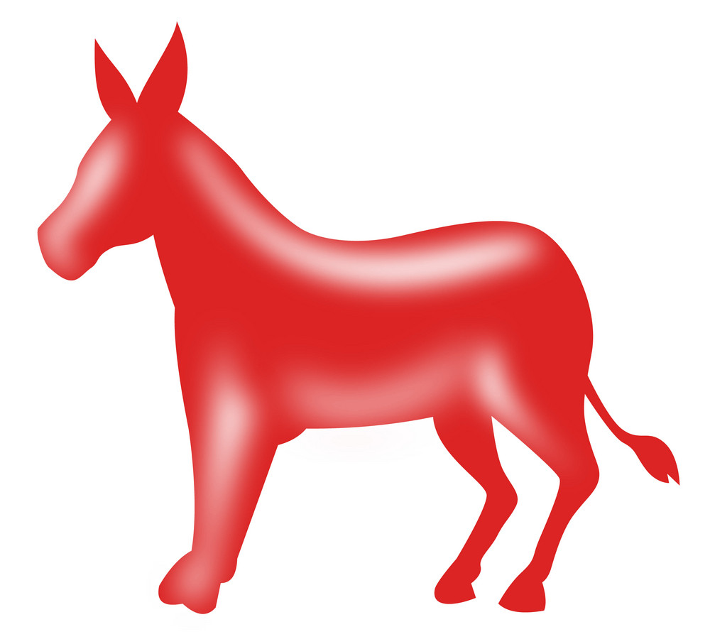 democrat donkey mascot royalty free stock image storyblocks images