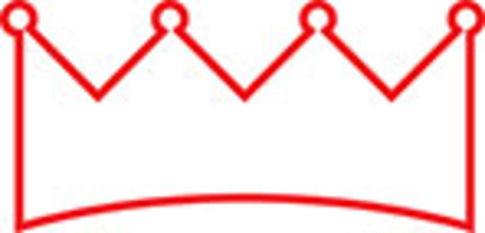 Design Element Of A Crown.