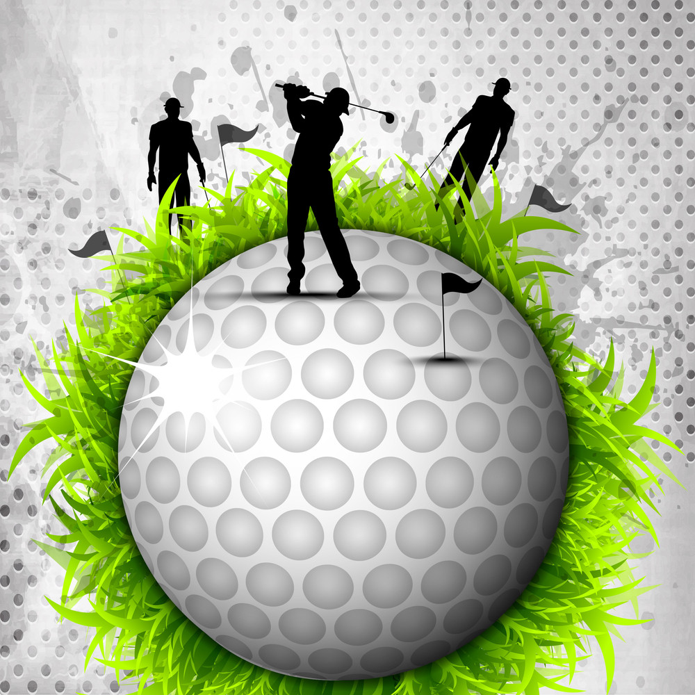 Designed Golf Background