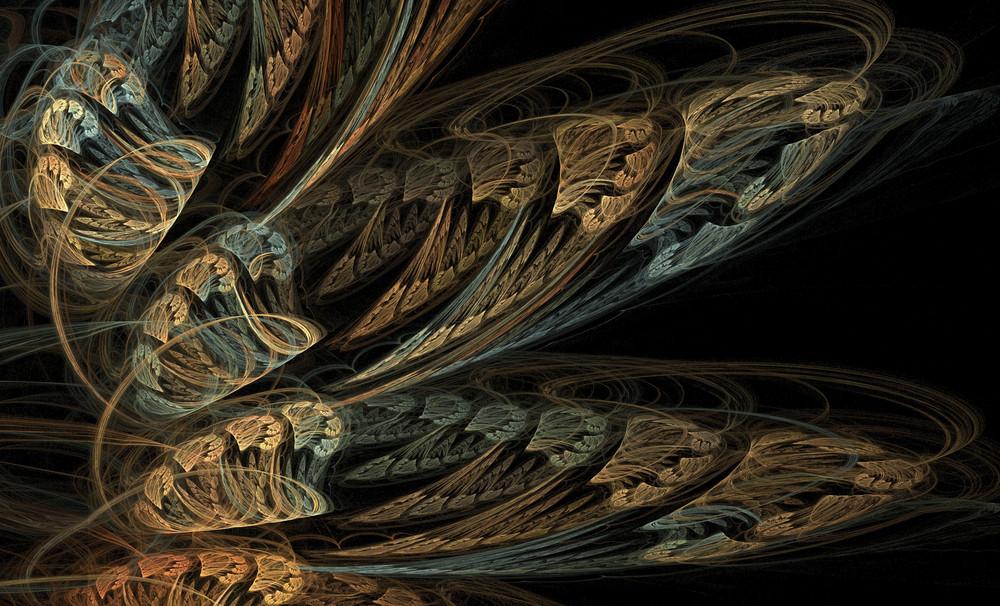 Detailed Fractal Background
