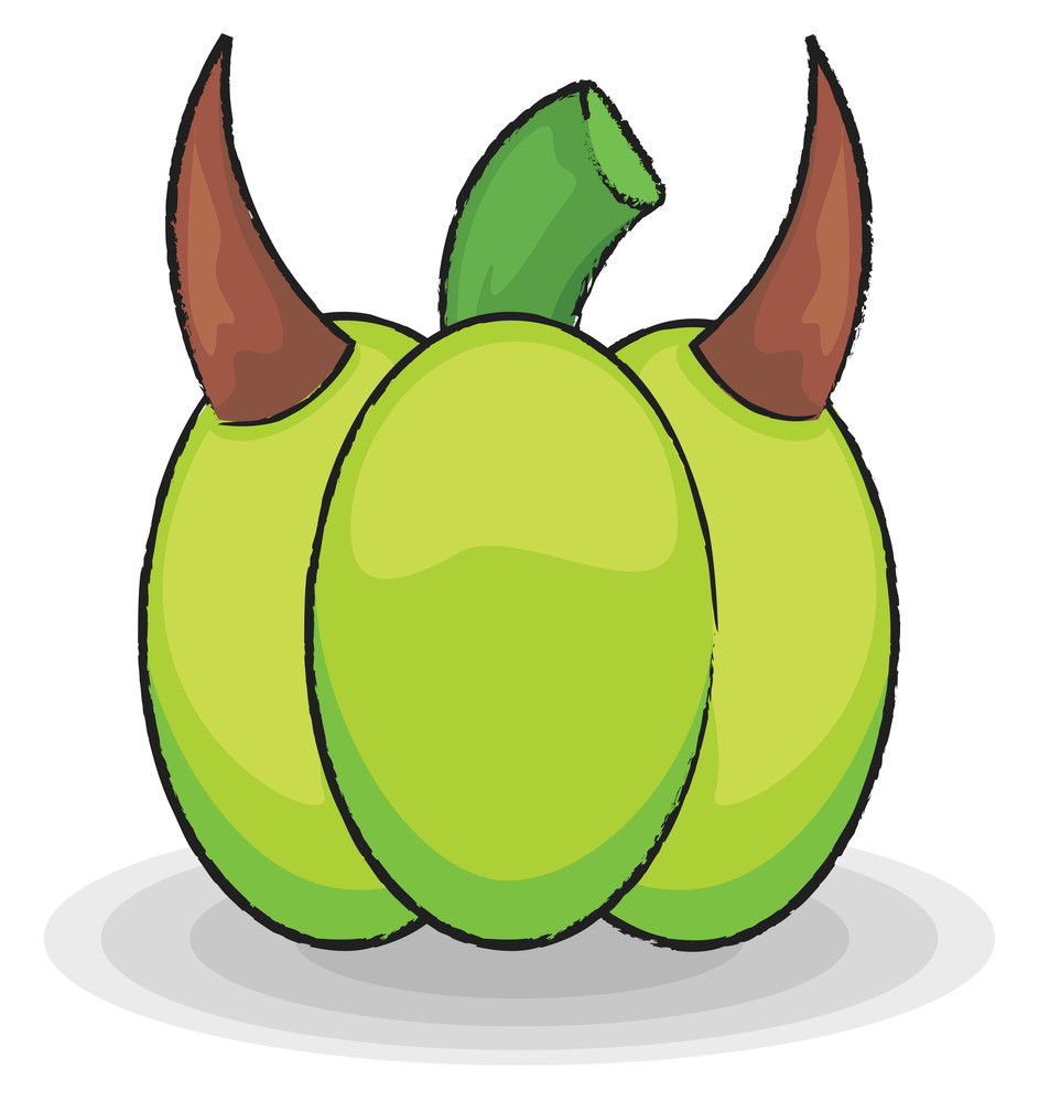 Devil Halloween Pumpkin
